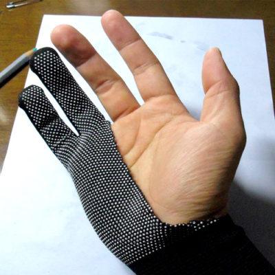 【絵描き向け】絵描き用手袋(二本指グローブ)の作りかた【自作】